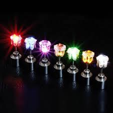 light up earring studs 2018 new design charm led earring light up bright stud