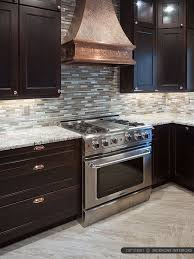 brown kitchen cabinets with backsplash ba1124 glass metal