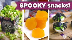 healthy spooky snacks for halloween kid friendly healthy recipes