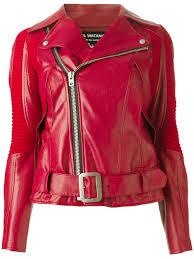 red leather motorcycle jacket junya watanabe junya watanabe leather jacket in red lyst
