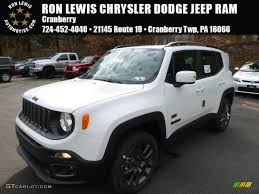 dodge jeep white 2016 alpine white jeep renegade latitude 4x4 111328350 photo 3