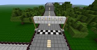 minecraft working car race track using mod car mod minecraft project