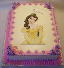 princess belle cake cake is covered with traditional vanil u2026 flickr