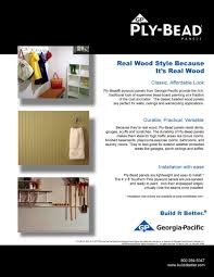 plytanium plywood ply bead panels georgia pacific pdf