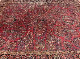 9 U0027 X 11 U0027 5 Antique Persian Rug Oriental Rug Sarouk Area Rug Free