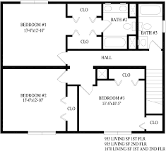 second story floor plans 28 images chesapeake two story style