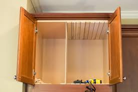 Kitchen Cabinet Dividers Kitchen Diy Adding Cookie Sheet Tray Storage Above The Oven