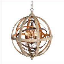 Beaded Wood Chandelier Interiors Wood Orb Light Rustic Sphere Lighting Small
