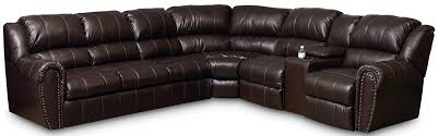 lane summerlin traditional reclining sectional sofa with sleeper