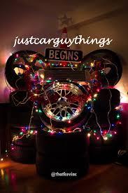 Christmas Lights For Cars A Car Guy Christmas Tree