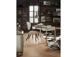 hooker furniture home office arabella mirrored writing desk 1610