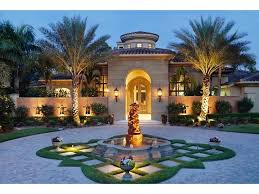 custom driveway and landscape plan designed for high end residence