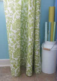 no sew drapes for the laundry room