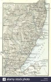 Brescia Italy Map by Lake Lago Di Garda Vintage Map Plan Salo Italy 1927 Stock