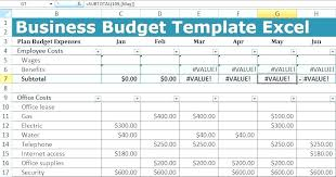 templates for business budgets department budget template website redesign hr department budget