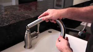 how to change a kitchen sink faucet how to install a kitchen faucet build com youtube
