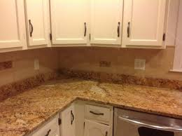 granite kitchen backsplash l shape kitchen decoration using square subway tile kitchen