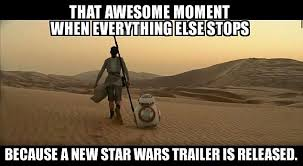 May The Force Be With You Meme - star wars the force awakens trailer sends social media into