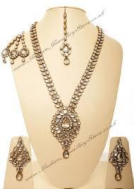 gold rani haar sets buy jhumar rani haar set rona nawk10541c indian jewellery store
