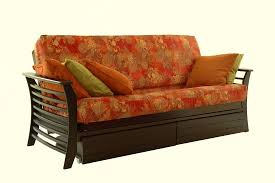 queen futon sofa bed queen size futons new amazon com brentwood mission style futon sofa