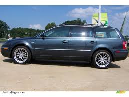 volkswagen wagon 2001 2001 volkswagen passat gls wagon in blue anthracite pearl photo 7