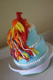 flaming phoenix birthday cake lolo u0027s cakes u0026 sweets