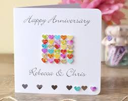 Happy Wedding Anniversary Cards Pictures 6th Wedding Anniversary Card Personalised Custom 6th