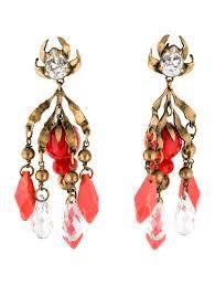 clip on chandelier earrings new clip on chandelier earrings architecture best gemstone and