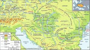 thames river map europe danube river river europe britannica com