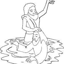 baptism coloring pages baptism coloring pages