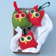 handmade felt christmas decorations vintage handmade felt