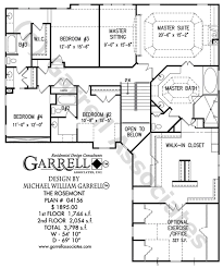 House Plans With A Courtyard Rosemont House Plan House Plans By Garrell Associates Inc