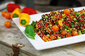 quinoa cuisine yes it s food easy mediterranean style quinoa natalie norman
