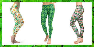 10 st patrick u0027s day leggings you u0027ll feel lucky to wear