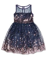 crystal doll sequin illusion dress big girls 7 16 dresses