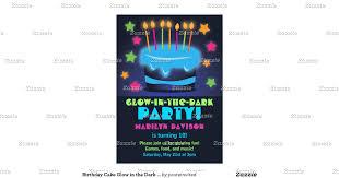 glow in the dark party invitation ideas alesi info