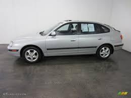 2003 hyundai elantra hatchback silver pewter 2003 hyundai elantra gt hatchback exterior photo