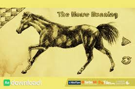 the horse running videohive free download free after effects