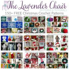 150 free crochet patterns the lavender chair