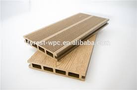 wood plastic solid composite decking commercial grade laminate