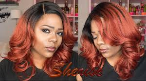 queen brooklyn hair reviews outre synthetic l part swiss lace front wig sherise drcrd review