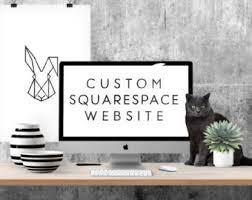 squarespace templates for sale website design etsy