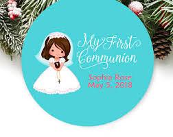 communion christmas ornament communion ornament etsy