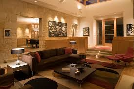 Lighting For A Living Room by Lighting For High Ceilings Living Room Contemporary With Circles