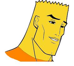 Handsome Face Meme - handsome face clipart clipartxtras