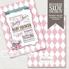 in baby shower invitation mad hatter tea