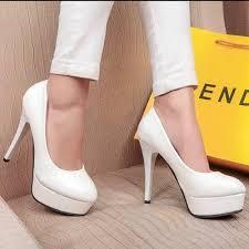 chaussures blanches mariage chaussures à talons blanches pour mariée soirée mariage