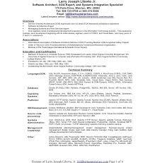 Resume Software Architect J2ee Java Resume Resume Resume Format Doc For Web Designer J2ee