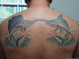marlin tattoo kuta saltwater fish tattoos sailfish striped marlin tattoos fishing