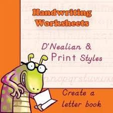 printable handwriting worksheets manuscript style create a